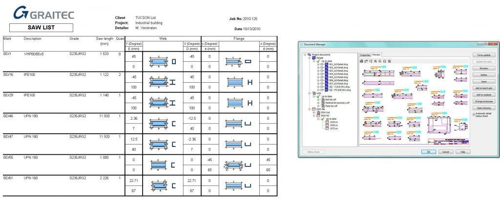 GRAITEC Autodesk Advance Steel | Управление документами