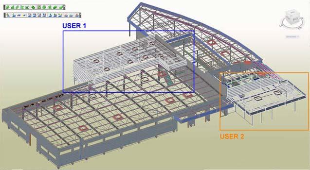 GRAITEC Autodesk Advance Steel | Многопользовательская (коллективная) работа