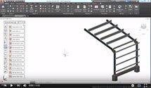 GRAITEC Autodesk Advance Steel | Новые узлы для прогонов