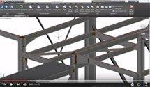 GRAITEC Autodesk Advance Steel | Синхронизация узлов стальных конструкций