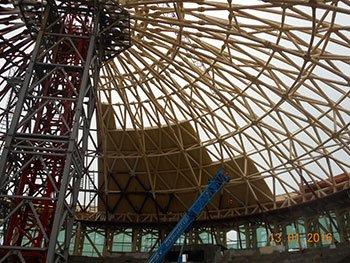 Реконструкция «Античного театра» детского центра «Орленок»