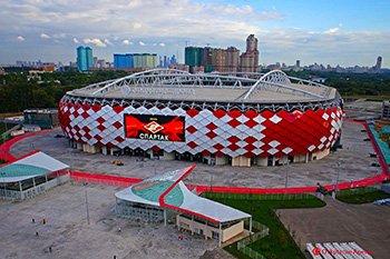 Структурная система стадиона «Спартак»